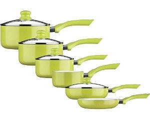 Green Complete Cook Ware