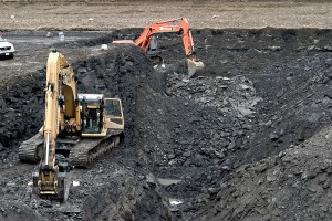 Two Excavator in Mining Courses