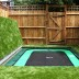 Square Trampoline on ground