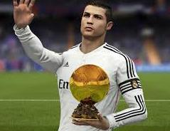 Player holding trophy